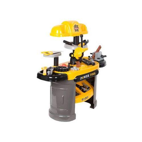 Kindersafe Duży warsztat majsterkowicza + narzędzia 64 części piła 008-912 (5902921968672)