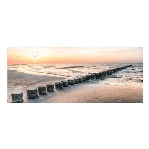 Styler Obraz na szkle jetty 125 x 50 cm (5907664197259)