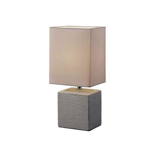 Trio RL Ping R50131026 lampka stołowa biurkowa 1x40W E14 brązowy