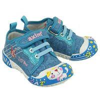 1te1188 niebieski, tenisówki dziecięce, rozmiary: 19-24 - niebieski marki Axim