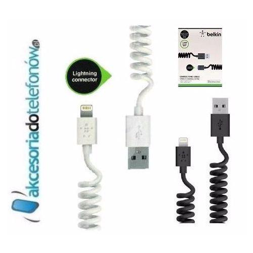spiralny kabel lightning iphone 5 5s 6 ipad, marki Belkin