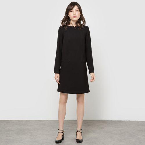 Sukienka z długim rękawem i suwakiem z tyłu marki La redoute collections