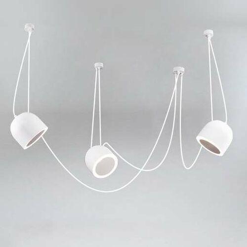 LAMPA wisząca DOBO 9037/E14/BI/kolor Shilo metalowa OPRAWA modernistyczny zwis (1000000427448)