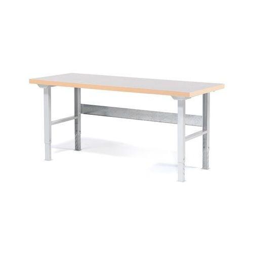 Stół roboczy SOLID, 500 kg, 2000x800 mm, winyl, 23231
