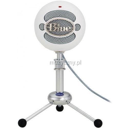 Blue microphones snowball tw mikrofon pojemnościowy usb (biały)
