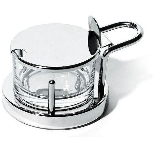 pojemnik na parmezan ze stali nierdzewnej i kryształu (5071) darmowy odbiór w 20 miastach! marki Alessi