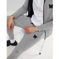 Good For Nothing skinny joggers in grey with logo - Grey
