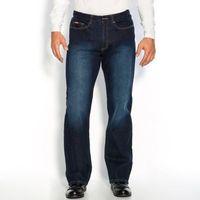 Wygodne dżinsy ze stretchu z gumką w pasie, długość 1, jeans