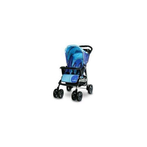 Wózek spacerowy CARETERO Monaco niebieski + DARMOWY TRANSPORT! (5902021522019)