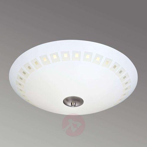 Markslöjd Plafon lampa sufitowa adria 106410 markslojd szklana oprawa okrągła led 12w wzorki białe (7330024559226)