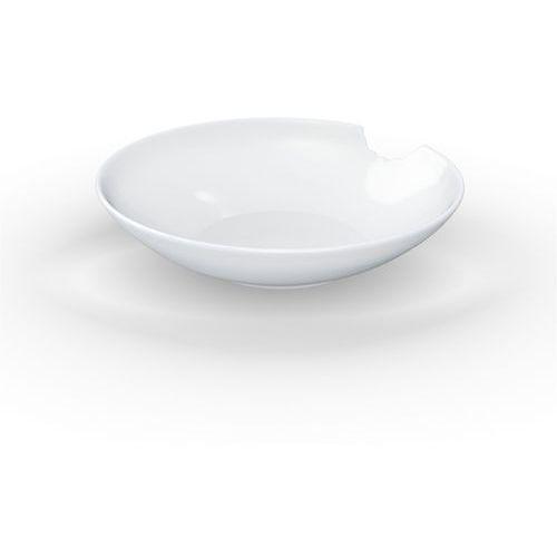 58products - talerz głęboki Ø 18 cm - biały błyszczący - 2 szt