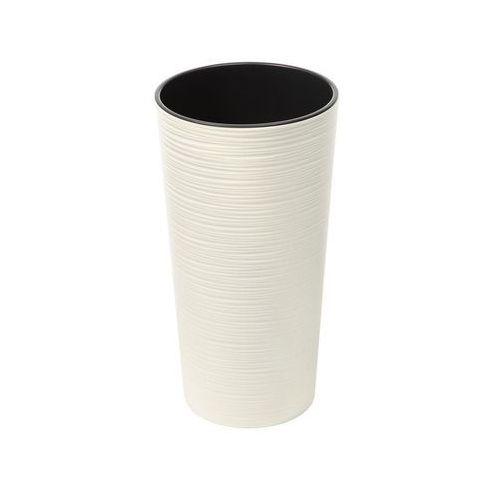 Lamela Doniczka lilia dłuto : kolor - kremowy, średnica - 190 mm (5900119747252)
