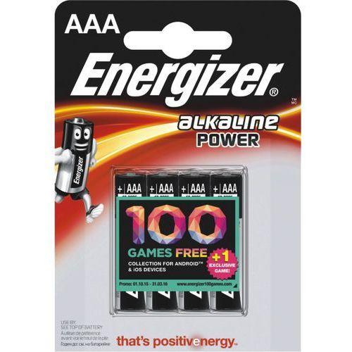 Baterie alkaliczne Energizer BASE Power Seal AAA blis./4szt 7638900247893