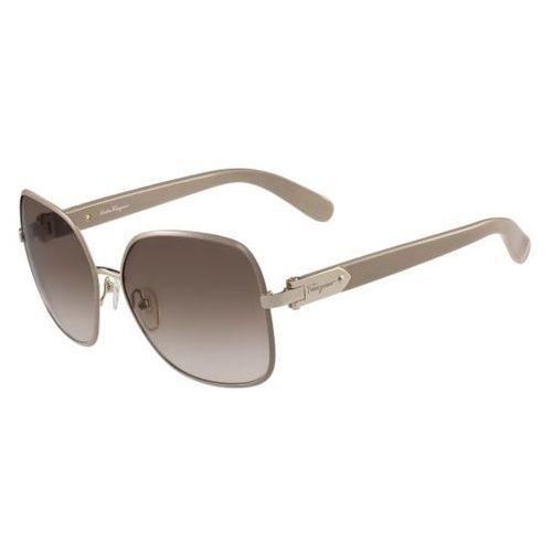 Salvatore ferragamo Okulary słoneczne sf 150s 743