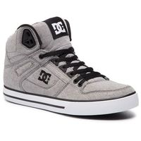 Dc Sneakersy - pure high-top wc tx se adys400046 grey (gry)