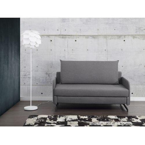 Sofa szara - kanapa - sofa do spania - rozkladana - belfast wyprodukowany przez Beliani
