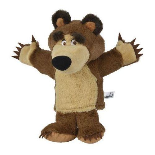 Simba masza i niedźwiedź - pacynka niedźwiedź, 28 cm (4006592982072)