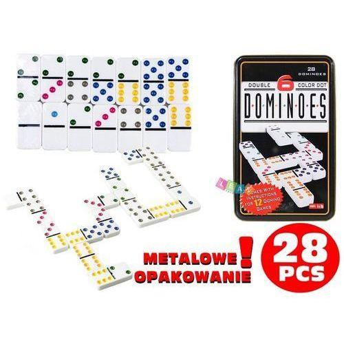 Gra Logiczna Domino Metalowe Opakowanie (1818911326428)