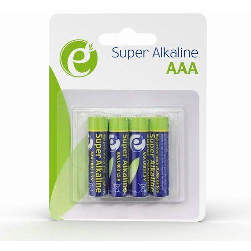 Gembird Bateria alkaliczna energenie eg-ba-aaa4-01 lr03 1,5v (4 szt.) (8716309104333)
