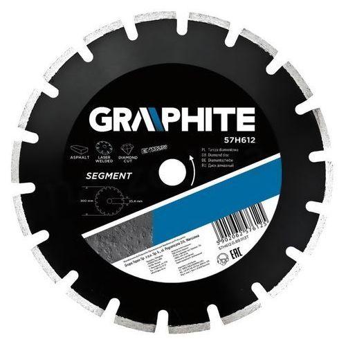 Tarcza do cięcia GRAPHITE 57H612 300 x 25.4 mm diamentowa