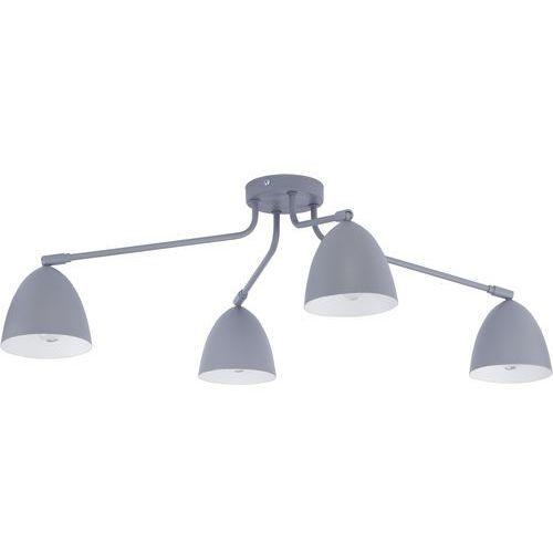 Tklighting Plafon oprawa sufitowa tk lighting loretta gray 4x60w e27 szary/biały 2377