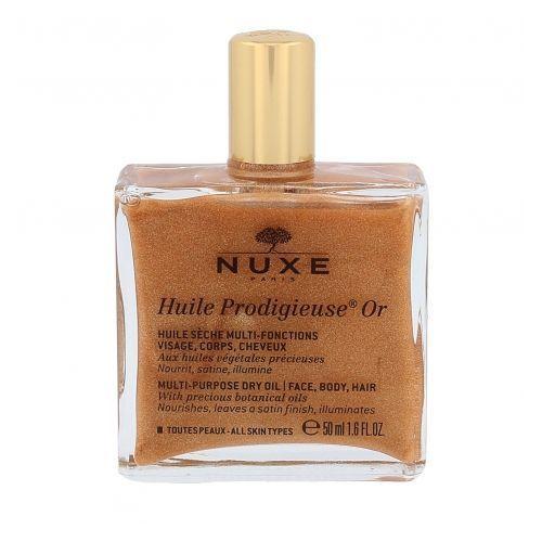 NUXE Huile Prodigieuse Or Multi Purpose Dry Oil Face, Body, Hair olejek do ciała 50 ml dla kobiet