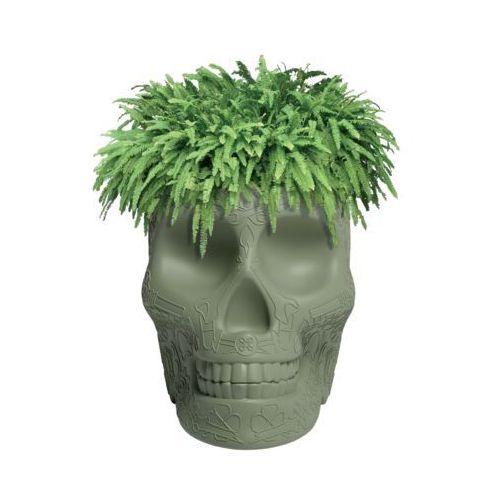 QeeBoo Czaszka Mexico Planter zielony 70007GE, 70007GE