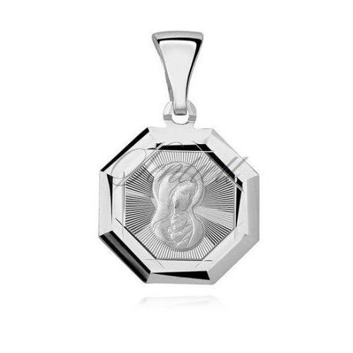 Sentiell Srebrny (pr.925) medalik matka boska madonna - md461