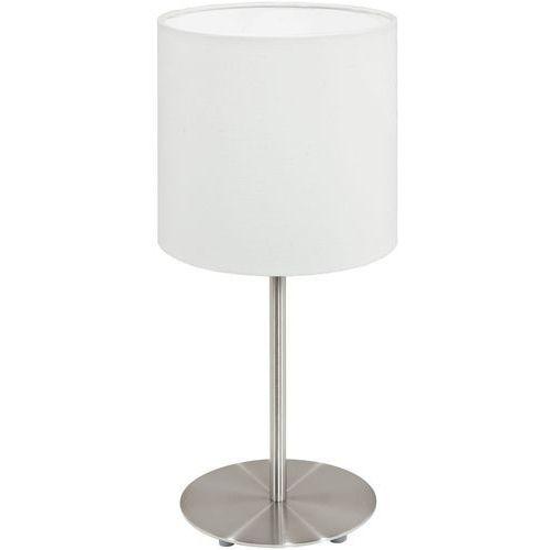 Eglo Lampa stołowa pasteri z białym kloszem - 14 cm, 95725