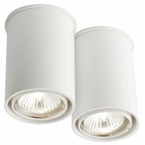 Spot LAMPA sufitowa OSAKA 7023 Shilo natynkowa OPRAWA tuby DOWNLIGHT biały