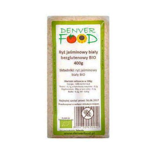 Ryż Jaśminowy Biały Bezglutenowy BIO 400g - DENVER FOOD