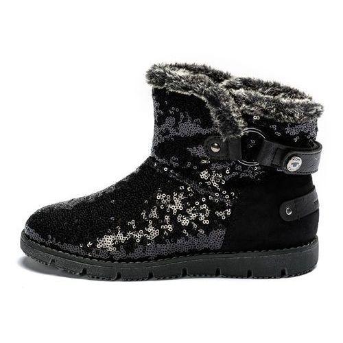 buty zimowe damskie 40 czarny marki Tom tailor