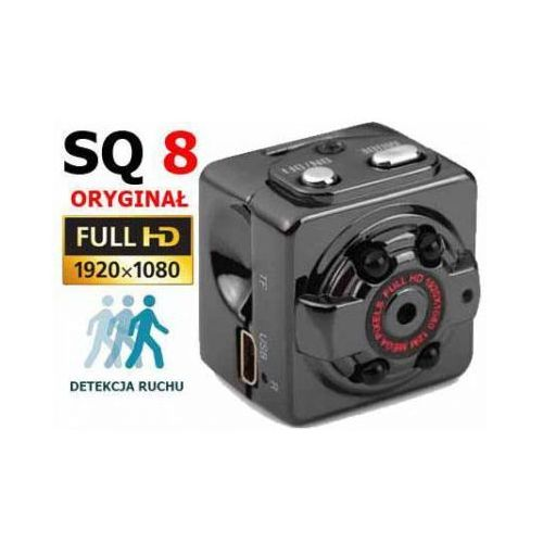 Mini Kamera SQ8 Szpiegowska Full HD 1080P