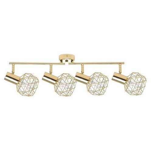 Lampa sufitowa 4-punktowa metalowa złota CHENAB (4260624117218)