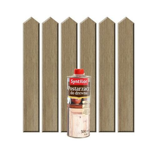 Postarzacz do drewna 0.5 l Stary dąb SYNTILOR