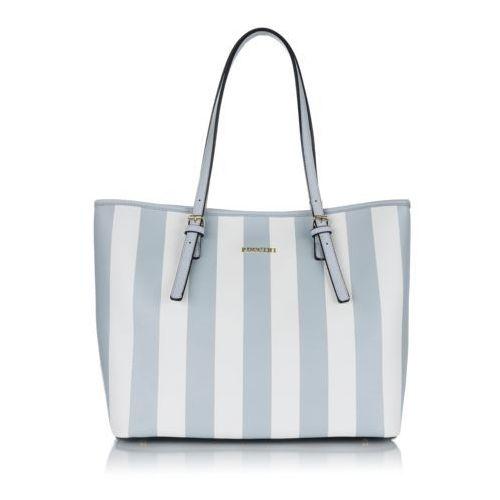 Fashion collection torebka shopper z eko skóry marki Puccini