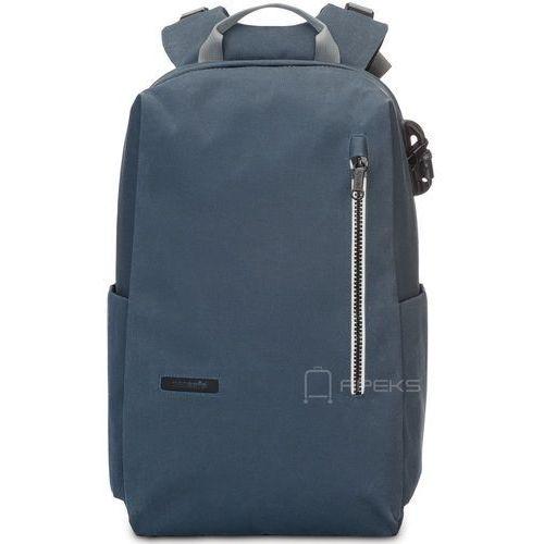 """Pacsafe intasafe z backpack plecak miejski na laptop 15"""" - navy blue"""