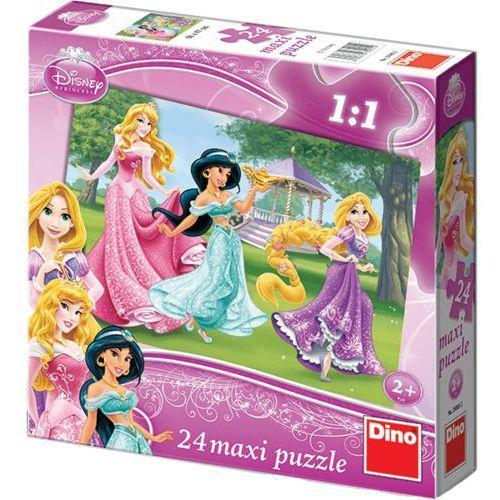 puzzle planszowe floor księżniczki 24szt od producenta Dino
