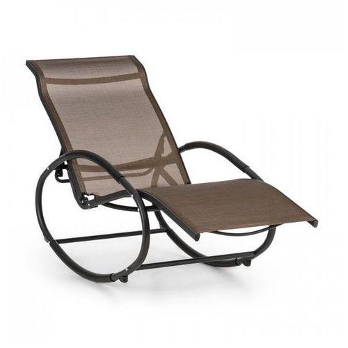 Blumfeldt santorini fotel bujany leżak brązowo-czarny