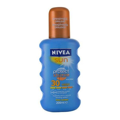 sun protect & bronze spray spf30 200ml w opalanie marki Nivea