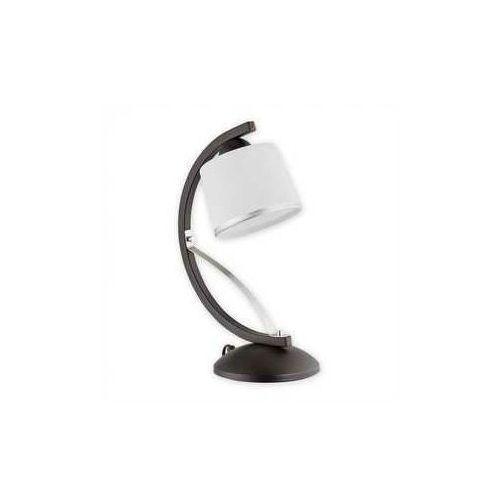 Astred lampka stołowa 1 pł. / chrom + rdza wenge, Dodaj produkt do koszyka i uzyskaj rabat -10% taniej!, O2288 L1 RW