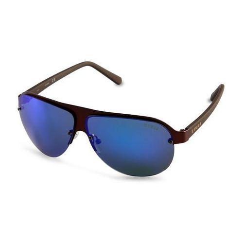 Okulary przeciwsłoneczne męskie GUESS - GF0148-66
