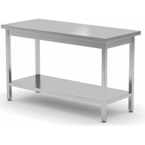 Stół centralny z półką | szer: 800-1900mm|gł. 700 mm marki Polgast