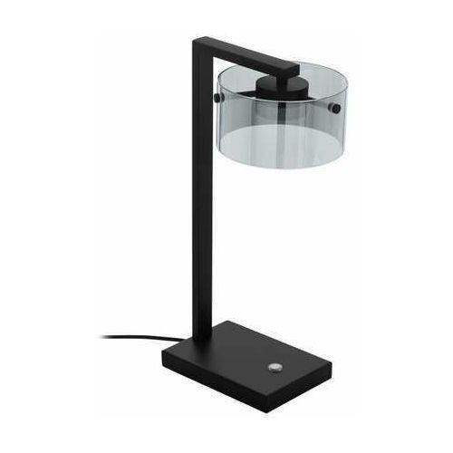 Eglo copillos 39877 lampa stołowa lampka 1x7,2w led czarna/czarna-transparentna