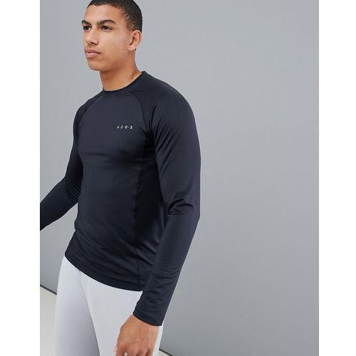 ASOS 4505 muscle training long sleeve t-shirt with quick dry in black - Black, w 3 rozmiarach