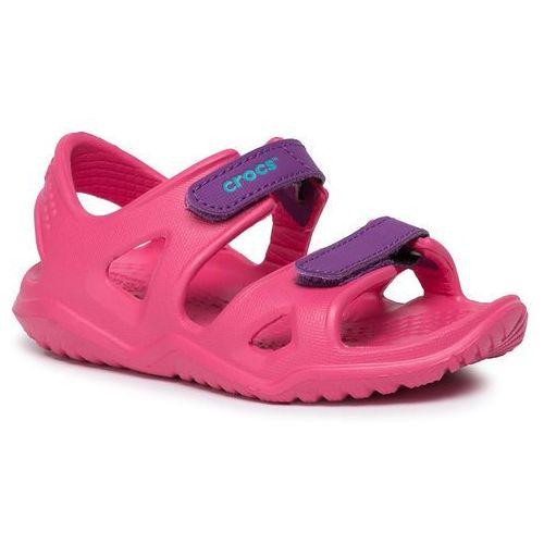 Sandały CROCS - Swiftwater River Sandal K 204988-60O Pink