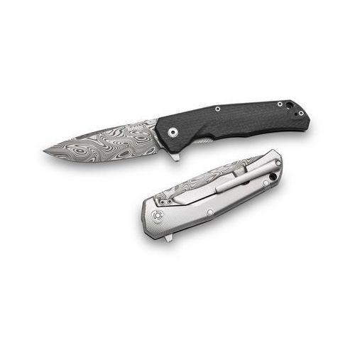 Nóż Lion Steel Damascus Thor Carbon Fibre TRE DT FC