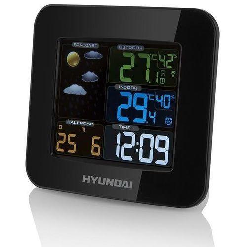 Stacja pogody ws8446 czarny marki Hyundai