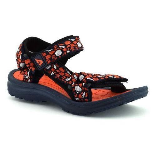 Sandały dla dzieci 58122 - pomarańczowy ||granatowy marki American club