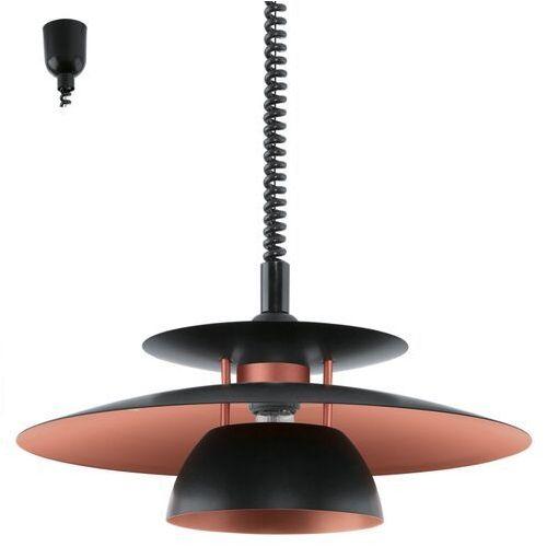 BRENDA 31666 LAMPA WISZĄCA EGLO, kolor czarny